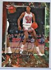 Scottie Pippen 1992-93 Fleer Ultra Basketball Buy Back Autograph Card Creased
