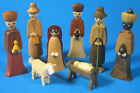 Christmas Nativity German Figurine Eight Z225X168X8