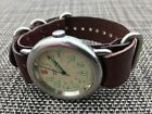 Victorinox Swiss Army Calvary Mens Watch w/  Leather NATO Strap...NICE