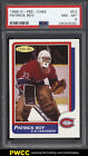 1986 O-Pee-Chee Hockey Patrick Roy ROOKIE RC #53 PSA 8 NM-MT (PWCC)