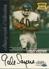1999 Fleer Autograph Collection Gale Sayers Football Card