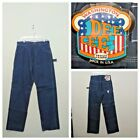 DeeCee Jeans Mens 34x34 Measured 32x35 Vintage 1970s Carpenter NWT invF4443
