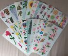 Mrs Grossmans FLOWERS TREES Stickers 71 Varieties RETIRED FreeShippingDeal