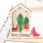 1Pc Chrsitmas Decorations Battery Led Light Wooden Night Lamp for Party