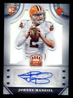 JOHNNY MANZIEL 2014 CROWN ROYALE ROOKIE SIGNATURE RC AUTO 25 25 *HEISMAN TROPHY*