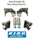 King Shocks Rear 20 Bump Stops w Mounting Sleeves fits 07 18 Jeep Wrangler JK