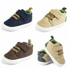 Newborn Baby Boy Crib Shoes Toddler Pre Walking Trainers Child Sneakers 0 12 M