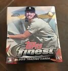 2015 TOPPS Finest Baseball Hobby Box FACTORY SEALED