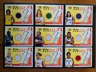 2003 WNBA Fleer Ultra All Star Material Full Set Of 20 Game Worn Jersey Cards!!