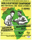 Muhammad Ali Boxing Cards and Autographed Memorabilia Guide 41