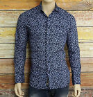 NEW Diesel SULPHER-F Shirt in Midnight Blue Size Small 33/34 SLIM NWT 178.000