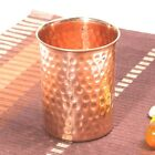100 Copper Drinking Glass Cup Tumbler Mug 300 ml SHIP IN 24 HOURS ITEM IN USA