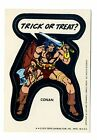 1975 Topps Comic Book Heroes Stickers 18