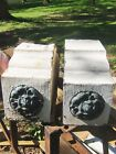 Two Victorian Zinc Tin Corbels - Circa 1870 Architectural Salvage