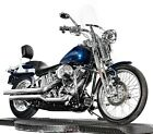 2004 Harley-Davidson Softail  2004 Harley Davidson Softail Springer FXSTS Luxury Blue Chromed Out! Many Extras