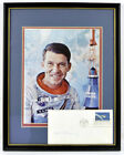 Astronaut Wally Schirra Autographed Project Mercury 2 20 1962 FDC Cover + Photo