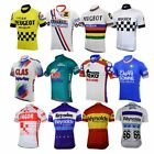 men peugeot cycling jersey france spain bike retro blue clothing cycling wear