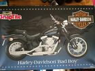 New Revell Harley Davidson Bad Boy 1:8 Scale Plastic Model Skill Level 2