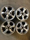 1 Used set of 4 Porsche Boxster Wheels 2 17 X 7 and 85 67258 and 67259