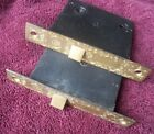 2 Antique New Old Stock Russell and Erwin Pat. 1889 Mortise Door Locks NOS