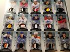 2014-15 UD Cup Rookie Patch Auto Lot (15) True RC Rattie Karlsson Sproul Ortio
