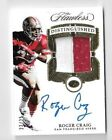 2017 Flawless Roger Craig 2 Color Jersey Patch Auto Autograph 22 25