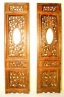 Antique Chinese Screen Panels (2864)(Pair); Cunninghamia Wood, Circa 1800-1849