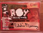 EDDIE MURRAY 2001 FLEER FOCUS ROOKIE OF THE YEAR COLLECTION JERSEY AUTO #28 77