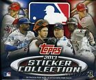 2013 TOPPS STICKER COLLECTION BASEBALL HOBBY BOX FACTORY SEALED NEW 50 PACKS PER