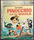 Vintage Walt Disney's PINOCCHIO AND THE WHALE 1st Ed Little Golden Book 1961