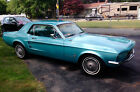 1967 Ford Mustang coupe 1967 Ford Mustang 31500 mile restored Arizone car in Frost Turquoise