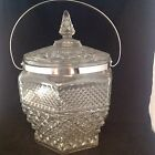 Anchor Hocking Wexford Ice Bucket Crystal (Clear) With 2 Set of Tongs