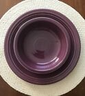 Fiestaware Heather Dinner Plate Salad Plate Medium Bowl