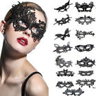Sexy Women Black Lace Eye Face Mask Masquerade Party Halloween Costume Supplies