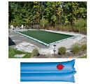 Buffalo Blizzard SPLIT BLOCKER Swimming Pool Winter Covers w Water Tubes