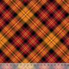 Fall Harvest Plaid Home Decor Fabric Polyester 62 W Sold by the Yard