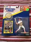 1991 Chris Sabo Starting Lineup SLU Figure, With Card and Coin