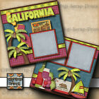 Disney Jungle Cruise 2 premade scrapbook pages printed paper piecing digiscrap
