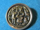 Antique Button: Red Riding Hood and the Wolf