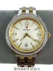 Michele Belmore Diamond Gold  Silver Two Tone Watch MWW29A000009 NIB Refurb