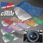 1914 pcs Self Adhesive Rhinestone Crystal Bling Stickers Round Pearls iphone Car