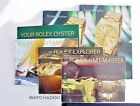 X6 Rolex Oyster Booklet w/ Instruction GMT Explorer Yachtmaster 2002 2004
