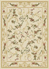 ORIENTAL IVORY AREA RUG 4X6 SMALL PERSIAN CARPET 019 - ACTUAL 3' 7