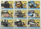 2005 Disneyland: 50th Anniversary COMPLETE SET of 65 Base Cards (1-50