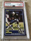 Tim Brown Football Cards, Rookie Cards and Autographed Memorabilia Guide 27