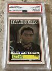 1983 Topps #294 Marcus Allen Signed Rookie Card HOF 03 PSA AUTHENTIC AUTO 10