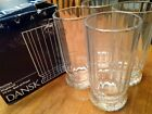 Set of Four Dansk France Gustav Pattern 14 Oz Highball Glasses