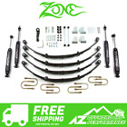 Zone Offroad 4 Lift Kit for 1987 1995 Jeep Wrangler YJ w Power Steering J28N