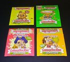2003-2005 Topps Garbage Pail Kids Series 1-4 Empty Display Boxes Gross Stickers