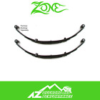 Zone Offroad 4 Front or Rear Leaf Springs Pair for 87 95 Jeep Wrangler YJ J0400